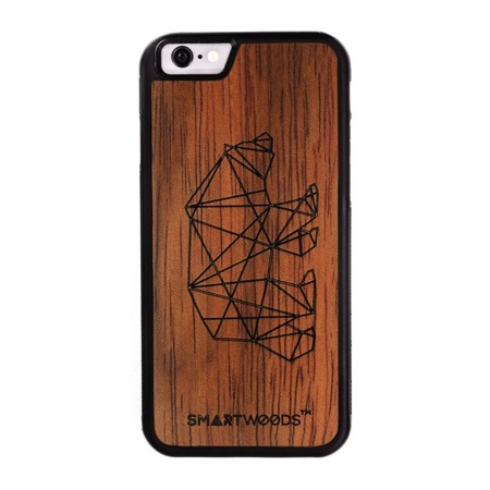 CASE ETUI DREWNIANE SMARTWOODS BEAR ACTIVE IPHONE 6 / 6S