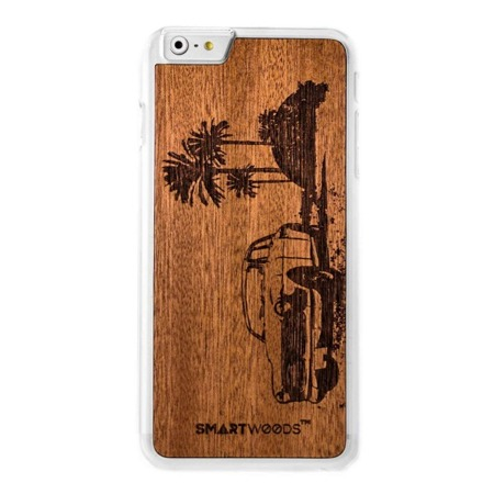 CASE ETUI DREWNIANE SMARTWOODS CUBA CLEAR IPHONE 6 / 6S