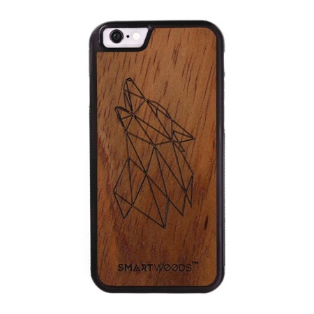 CASE ETUI DREWNIANE SMARTWOODS WOLF ACTIVE IPHONE 6 / 6S